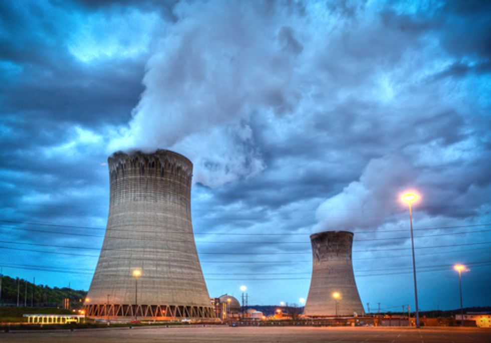 Fracking Fukushima Batman—Is that a Natural Gas Well Near a Nuclear Power Plant?