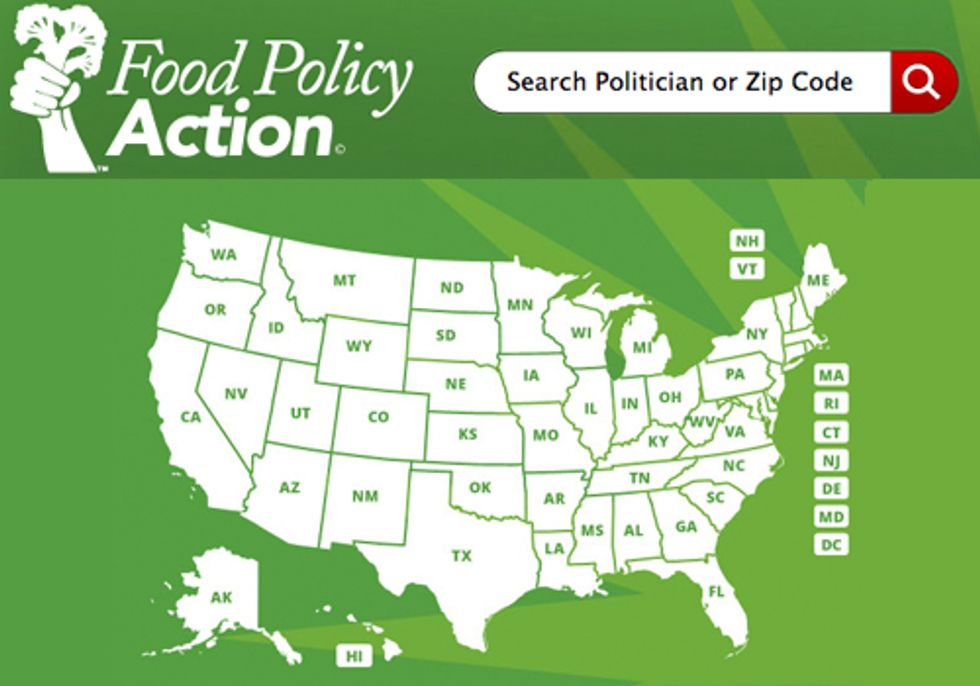 Food Scorecard Puts Politicians on the Menu and Gives Consumers a Seat at the Table