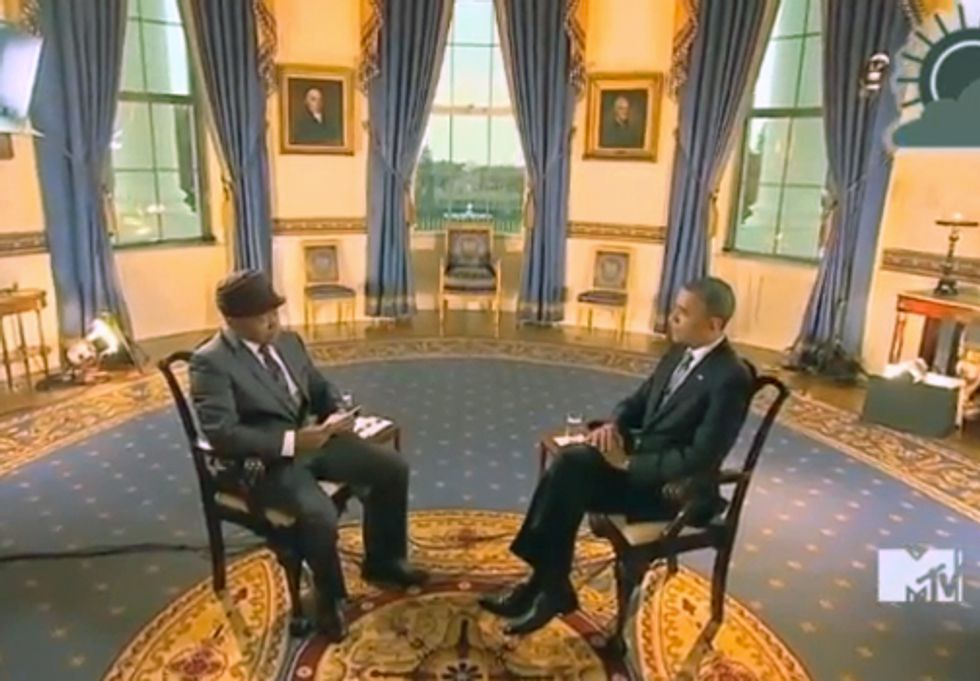 MUST SEE VIDEO: MTV Breaks Climate Silence in Interview with President Barack Obama