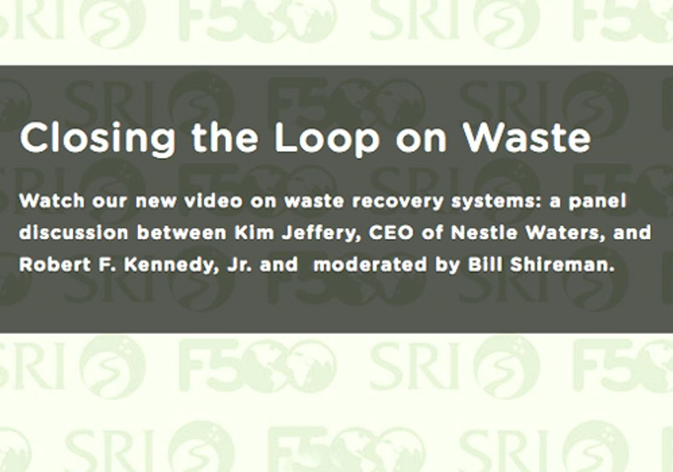 Robert Kennedy, Jr. and Kim Jeffery Discuss the Urgency to Advance Comprehensive Recycling Systems in the U.S.