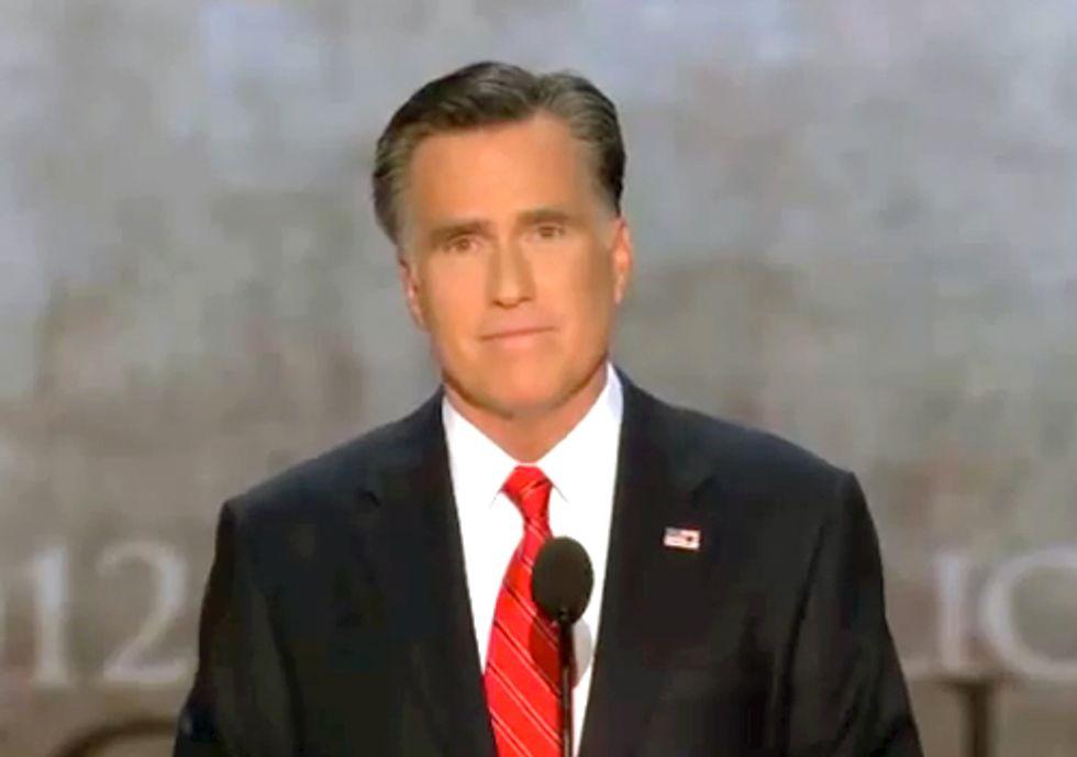 In Romney's Own Words