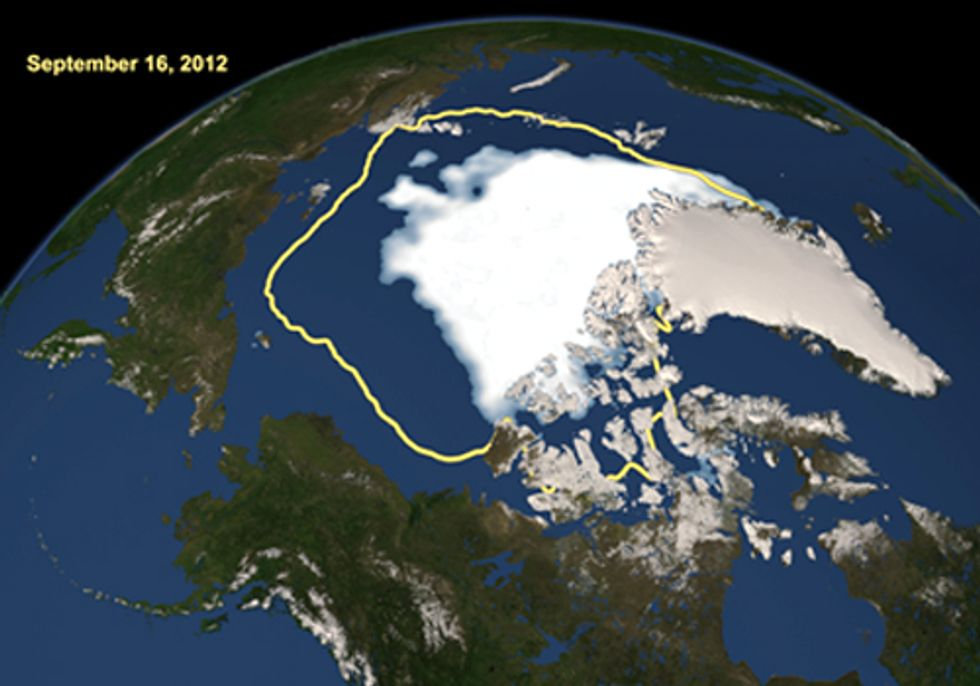 How Arctic Sea Ice Loss Impacted Sandy