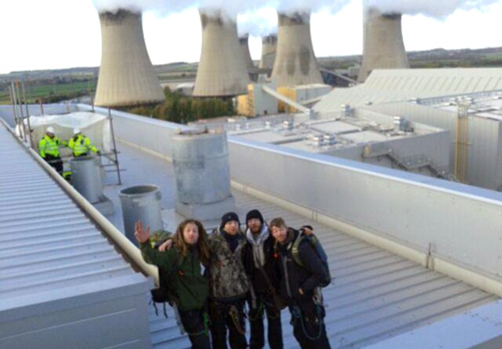 Activists Shut Down UK's Gas Power Station for One Week