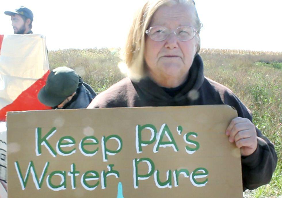Farmer Fights for Her Land as Shell Begins Fracking Amidst Hundreds of Abandoned Oil Wells
