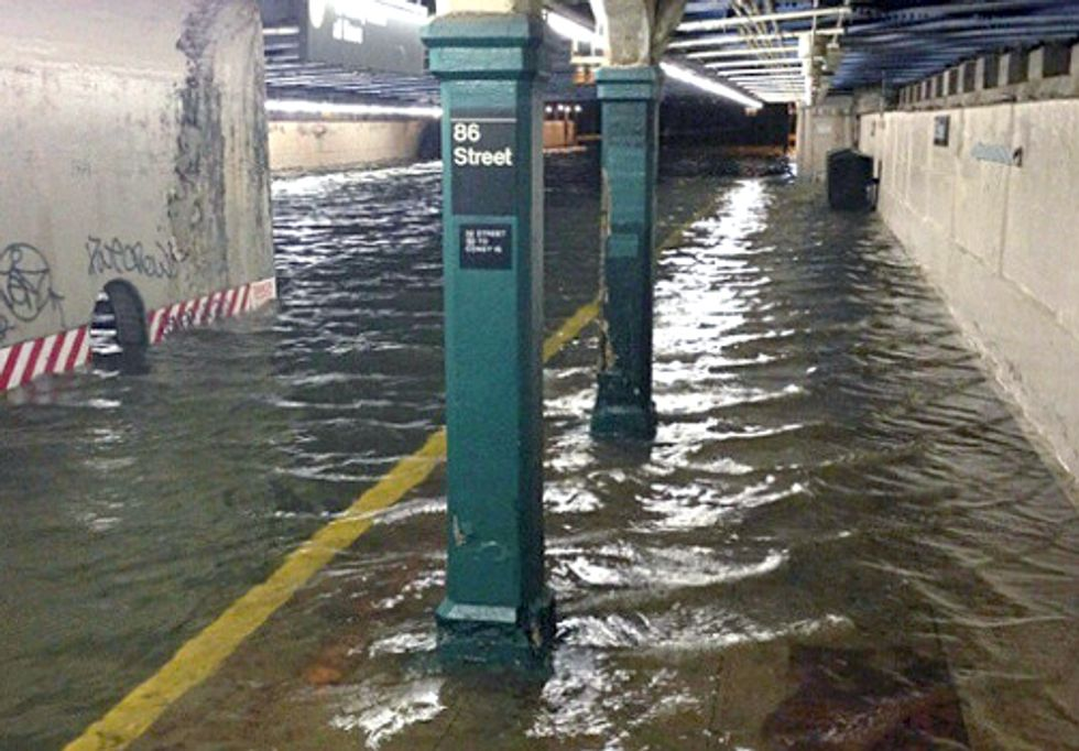 Climate Change Crawls Out of New York's Subway Tunnels and Into the Political Light of Day