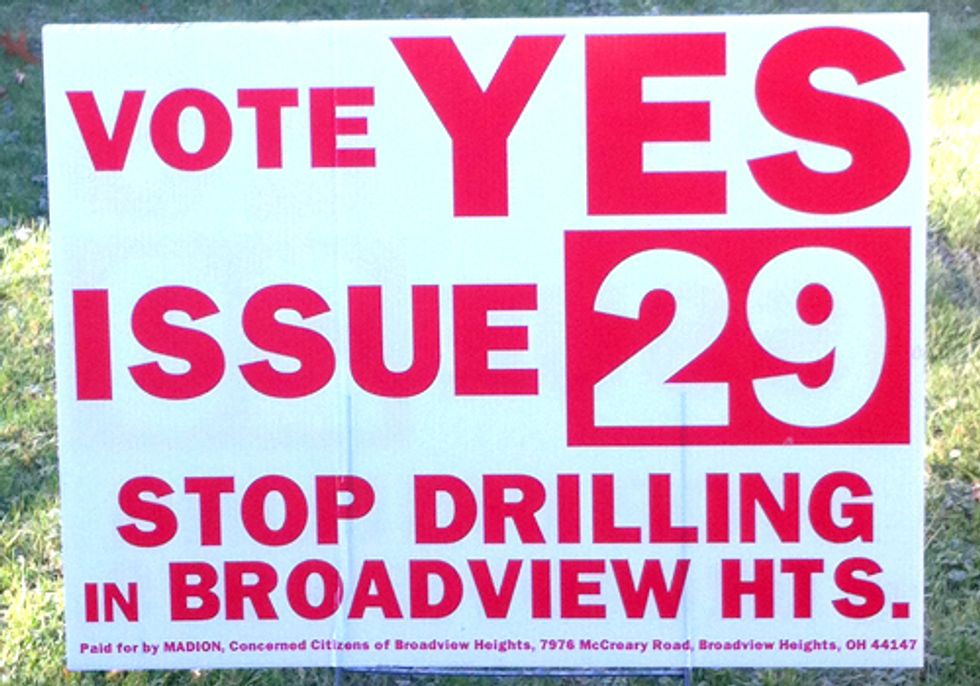 Ohio Voters Pass Two Community Bills of Rights Banning Fracking-Related Activity