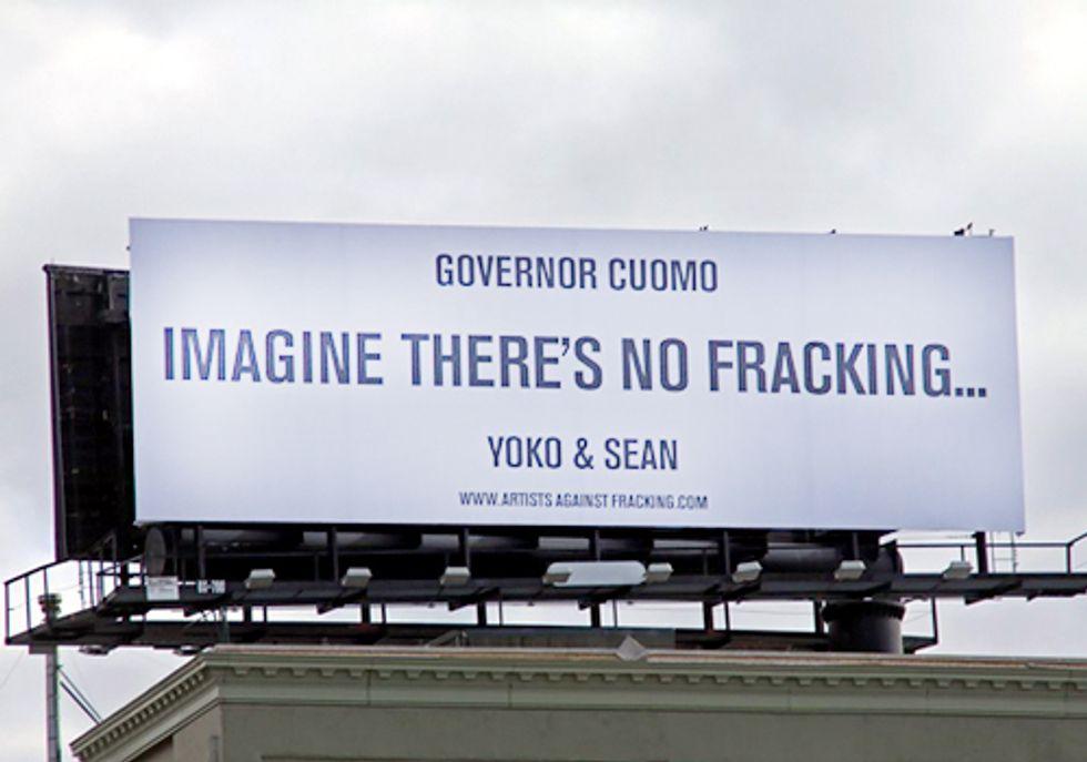 Governor Cuomo: Imagine There's No Fracking...