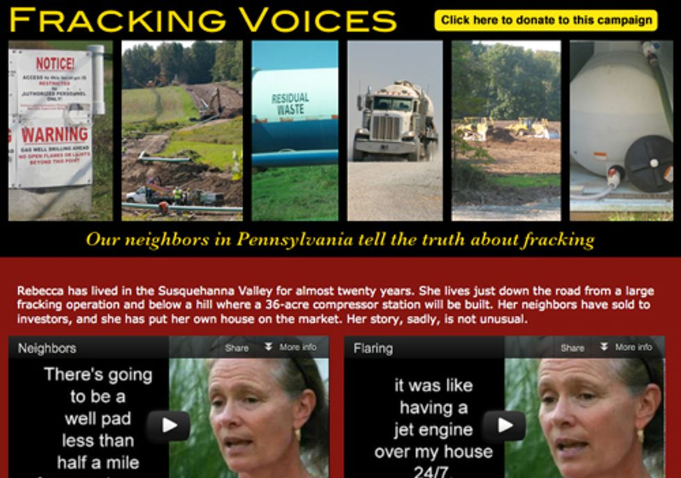 Fracking Voices—Pennsylvania Residents Warn New Yorkers About the Dangers of Fracking