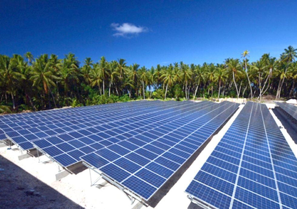 Island of Tokelau Becomes World's First Solar-Powered Country