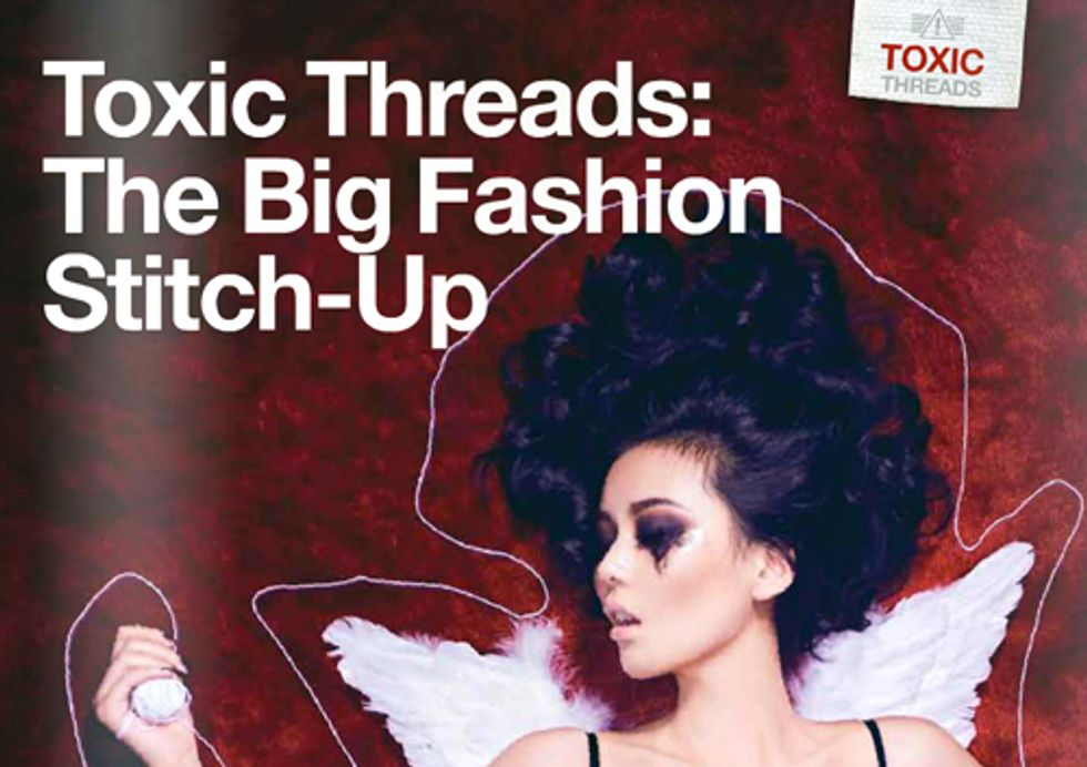 Toxic Threads—Greenpeace Exposes Hazardous Chemicals in High Street Fashion Brands