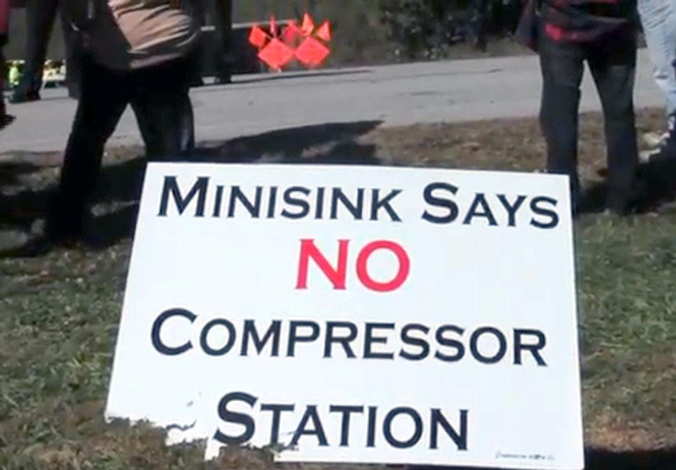 Battle Over Minisink Compressor Station Heats Up