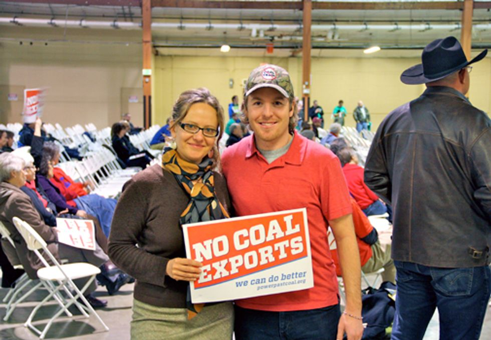 Battle Over Coal Trafficking Heats Up at Hearing