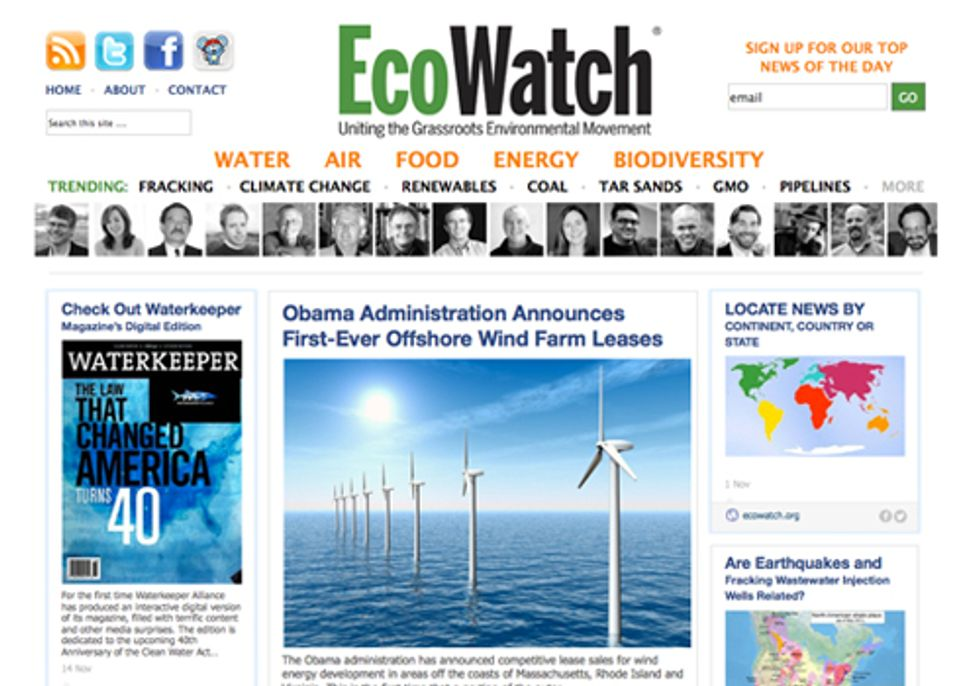 EcoWatch Partners with RebelMouse to Amplify Its Reach, Impact and Engagement