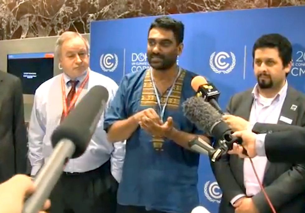 MUST SEE VIDEO: UN Climate Talks a Substantial Failure