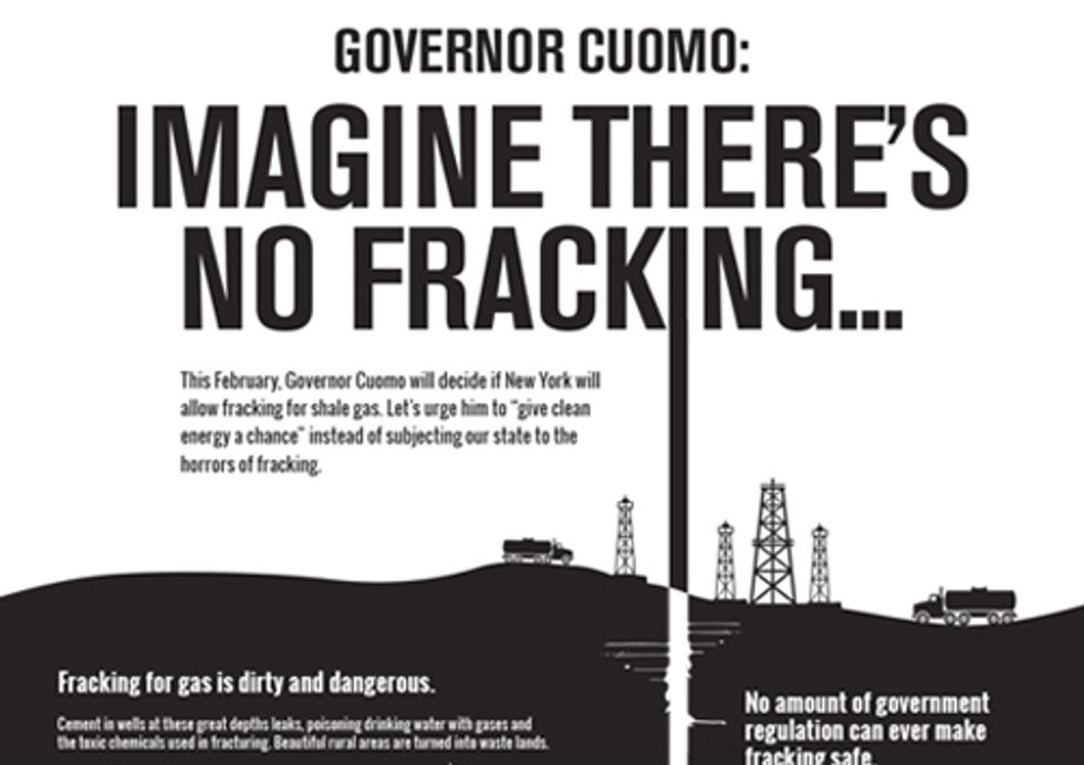 Imagine There's No Fracking … Give Clean Energy a Chance