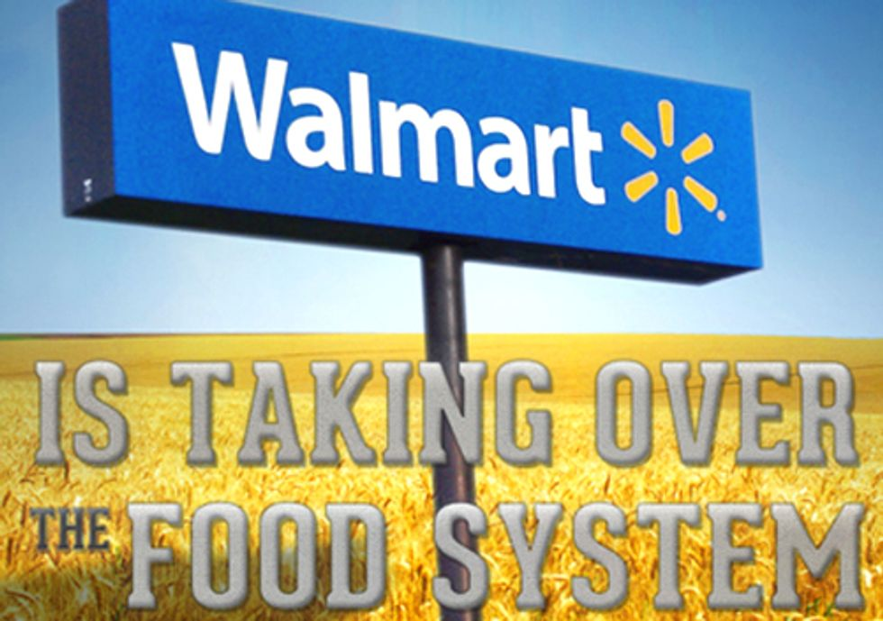 How Walmart is Taking Over the Food System