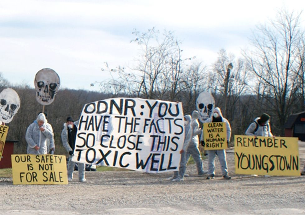 VIDEO: Fight Over Toxic Fracking Injection Wells Continues in Ohio