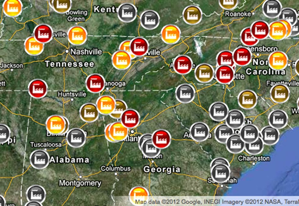 Online Tool Identifies Dangers of Toxic Coal Ash Impacting Your Community