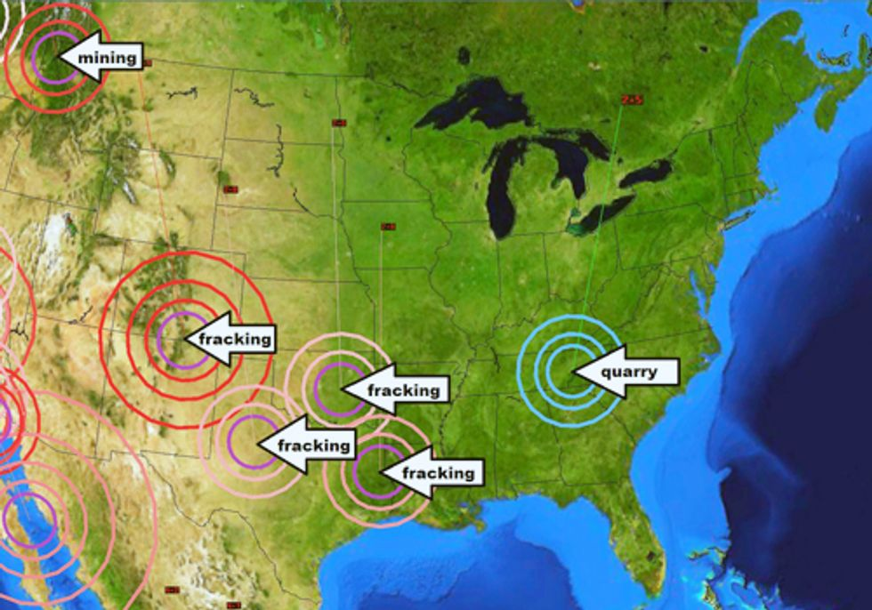 Mounting Evidence Links Earthquakes to Fracking Wastewater Injection Wells