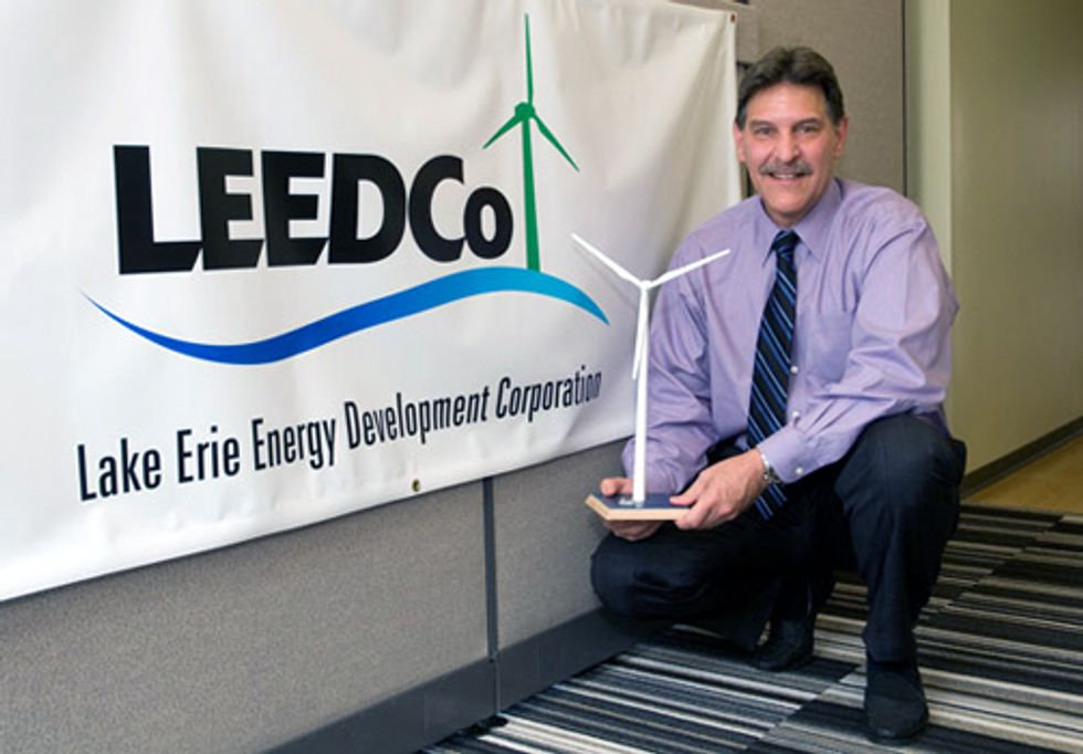 Lake Erie Wind Turbine Project Receives $5 Million in New Funding