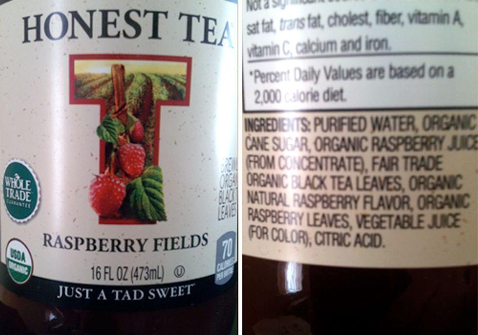 An Honest Look at Honest Tea Labels