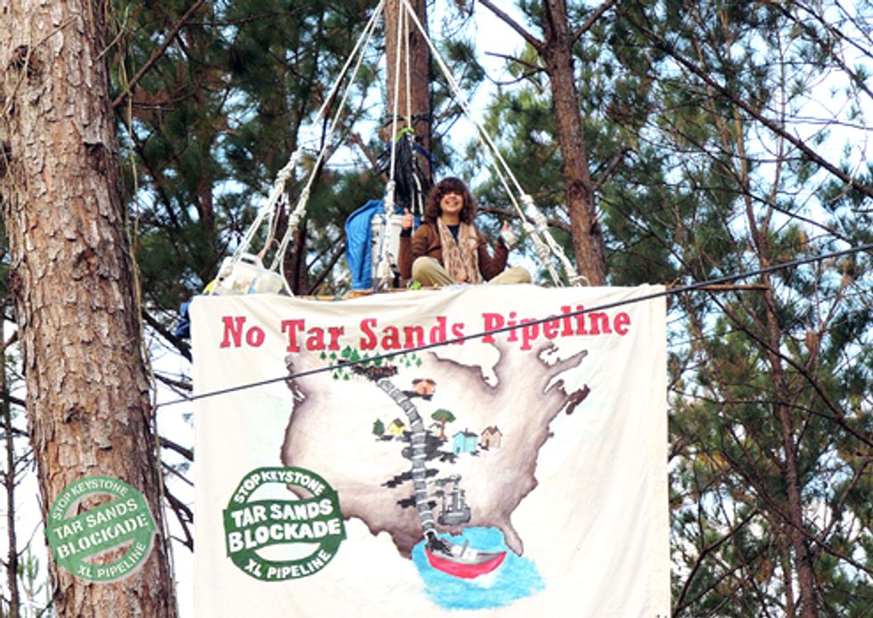 Tar Sands Blockade Action and Training Camp Jan. 3 - 8