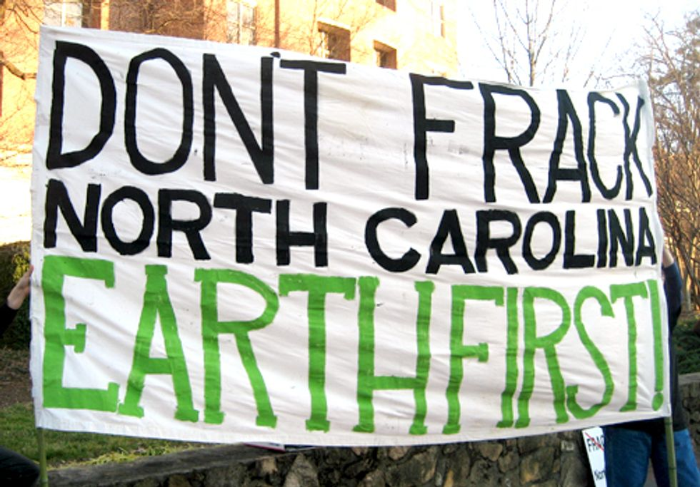 Two Arrested at Fracking Protest in North Carolina