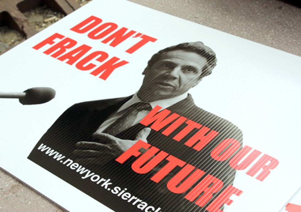 Groups Call on Cuomo to Open Up Fracking Health Review to Public