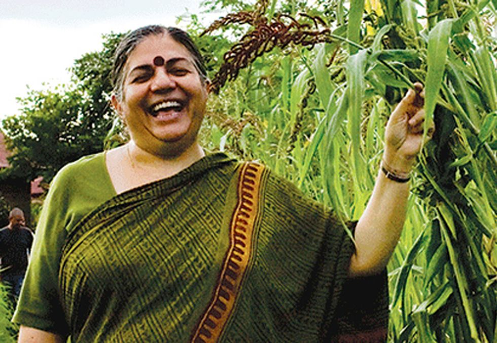 VANDANA SHIVA: The End of Consumerism is the Beginning of the Joy of Living