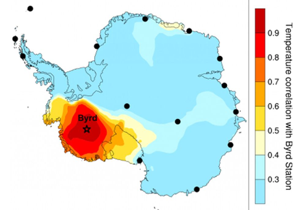Antarctic Ice Sheet Warming Nearly Twice as Much as Previously Thought