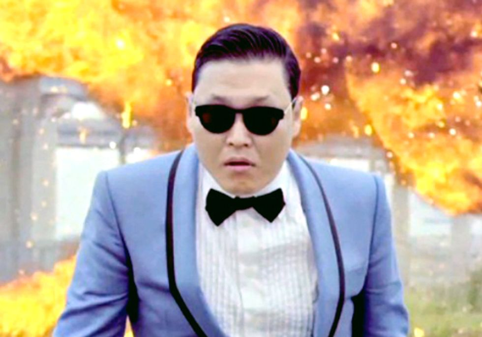 The Power of Collective Action Gangnam Style