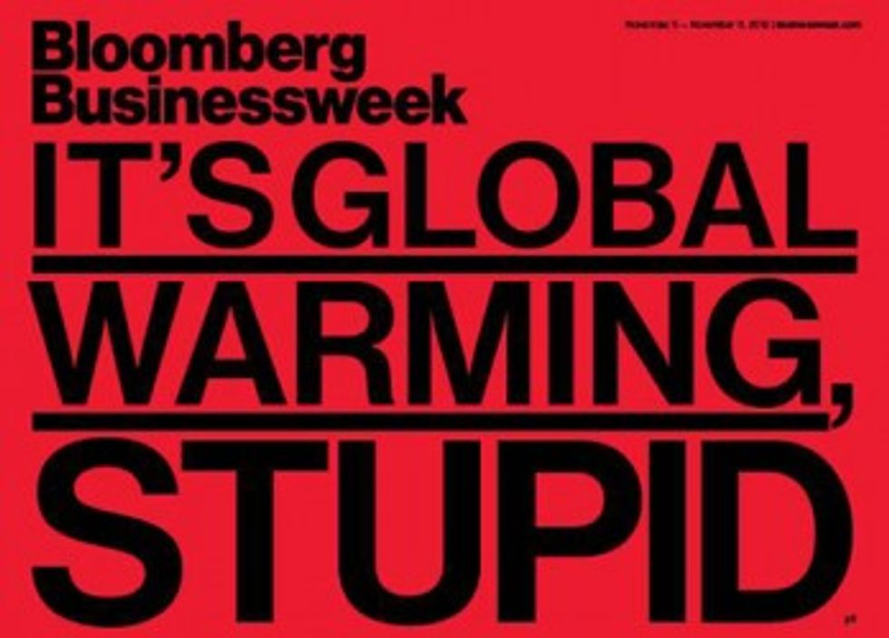 Story of the Year: It's Global Warming, Stupid