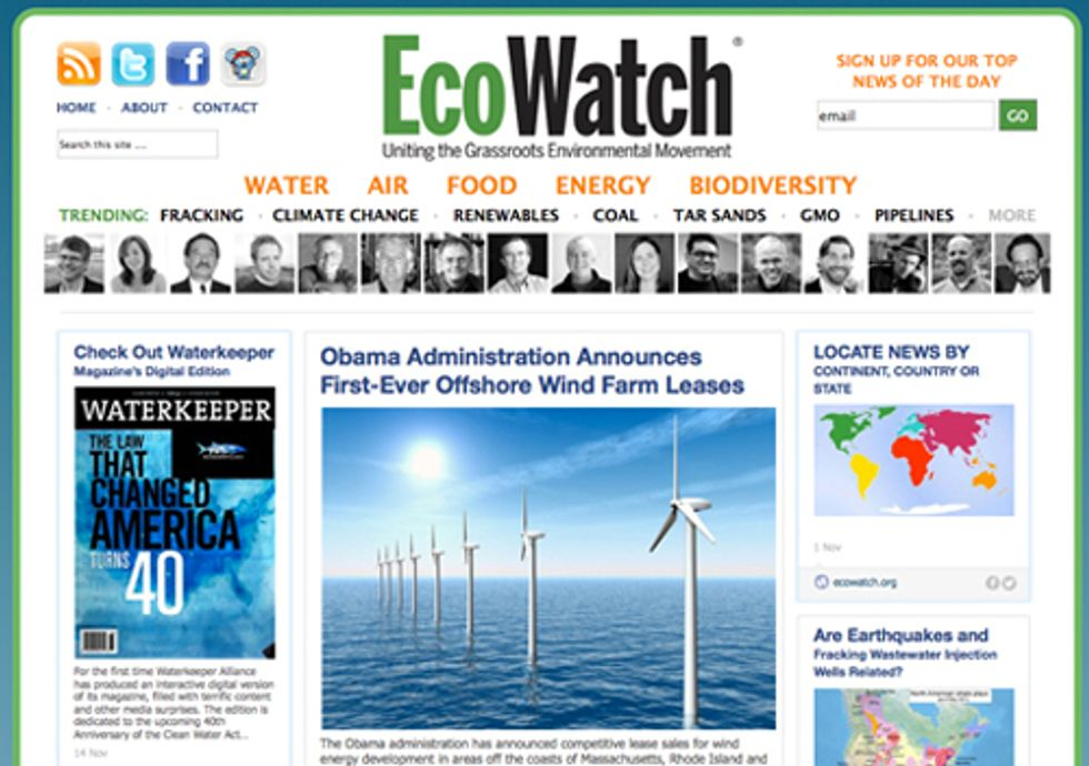 EcoWatch Made Top 12 RebelMouse Sites of 2012