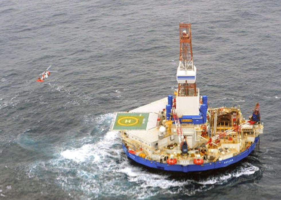 Shell Oil Rig Runs Aground Raising Grave Concerns of Drilling in the Arctic