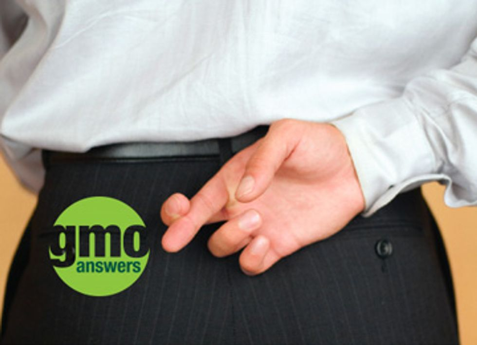 Monsanto and Friends Pretend to Care, Launch 'GMO Answers' Website