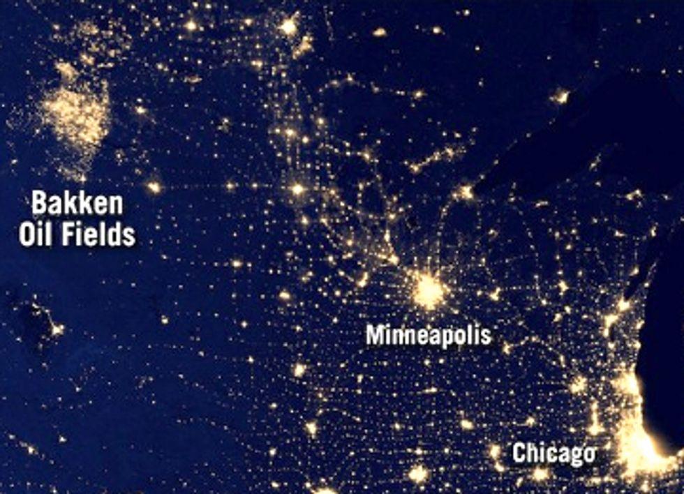 Fracking Flares Double In North Dakota