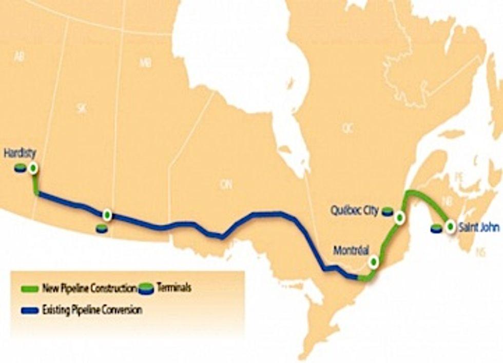 New TransCanada Pipeline Plan Dwarfs Keystone XL