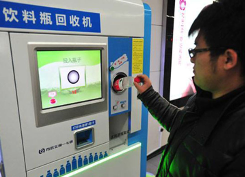 Paying With Plastic: Recycling Earns Public Transit Fares in China