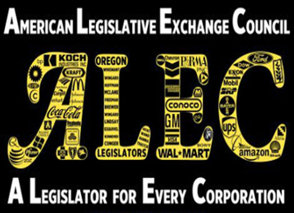 ALEC Reinstates Attack On Renewable Energy Policies