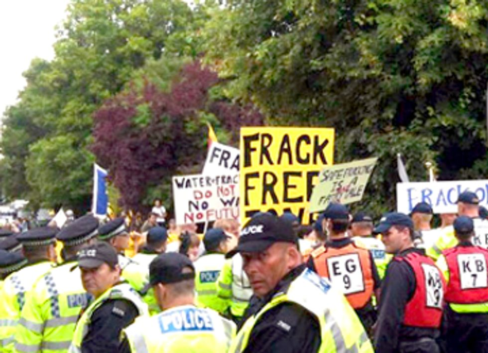 UK Fracking Protests Intensify As Officials Push Exploratory Drilling