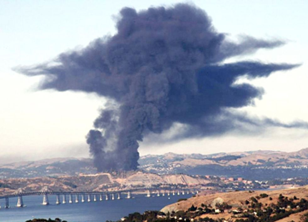 Chevron Gets $2 Million Slap On Wrist for Refinery Fire