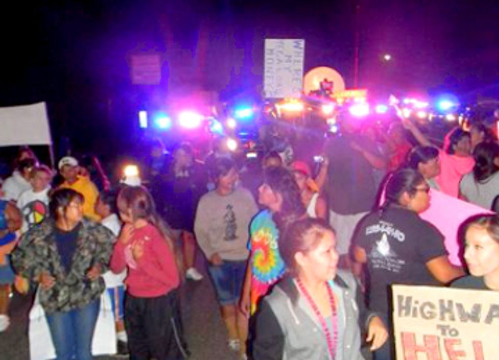 With Indigenous Land on the Line, Tar Sands Protests Escalate in Idaho