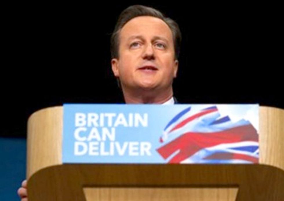 Cameron Throws a Penny In the Shale Gas Well and Hopes His Wishes Come True