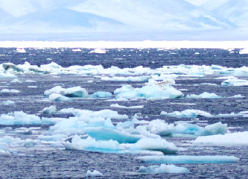 Arctic is Caught in Rapid Melt 'Death Spiral'