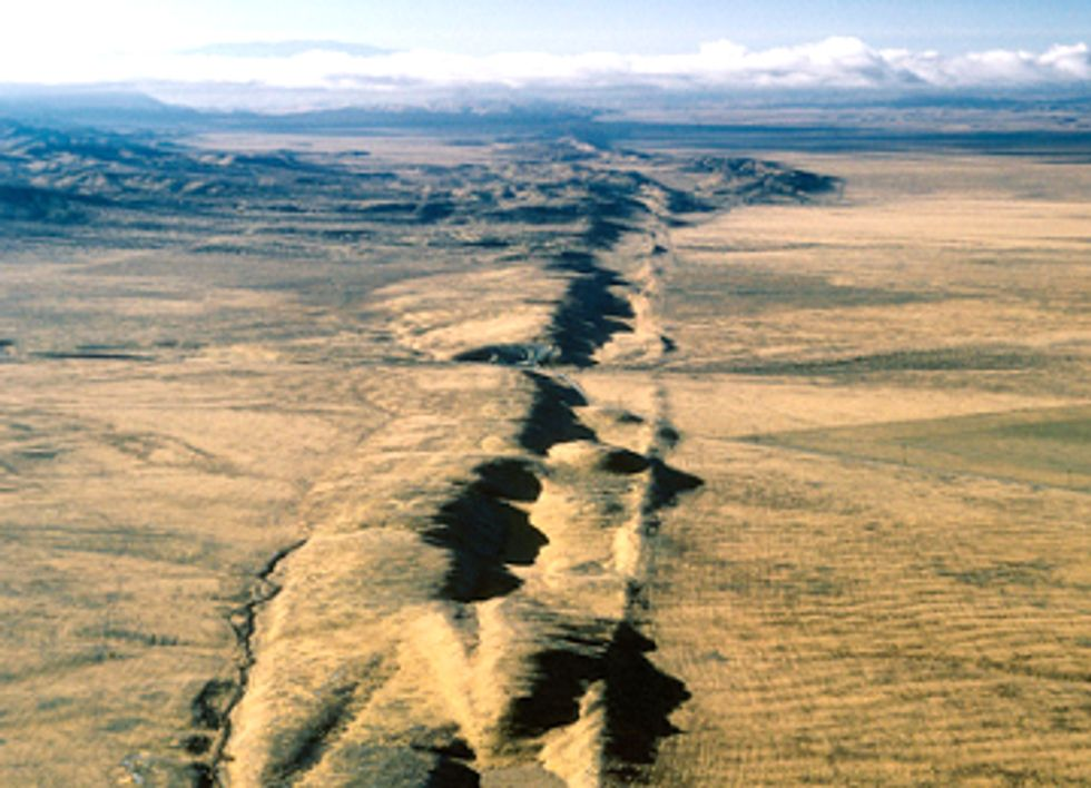 Fracking the Ocean and California's San Andreas Fault