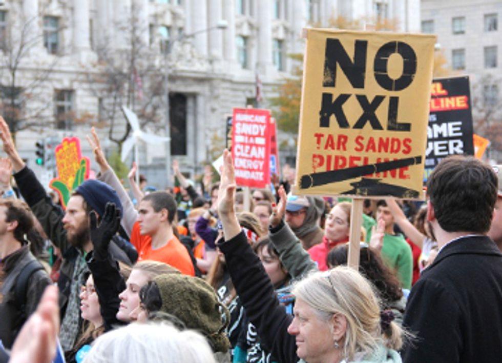 Climate Activists Use Civil Disobedience As Law Enforcement