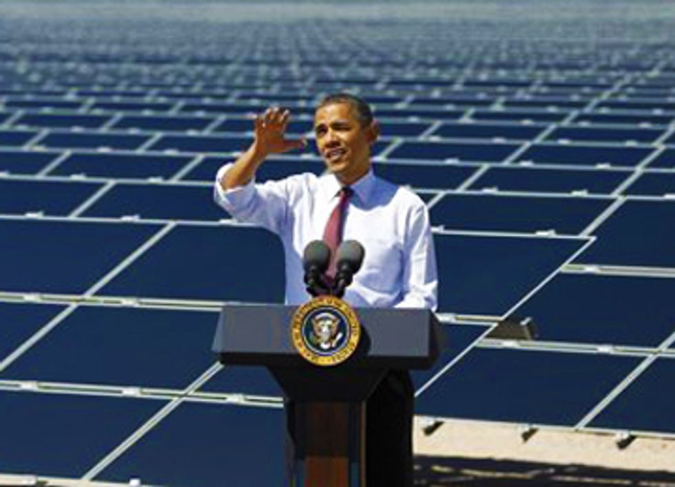 President Obama Is Putting Solar on the White House Roof