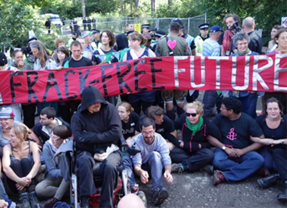 UK Direct Action Shuts Down Fracking Company Headquarters, PR Firm and Well Site