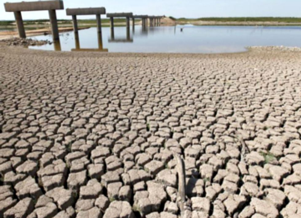 Drought-Stricken Texas Fracks Its Way to Water Shortages