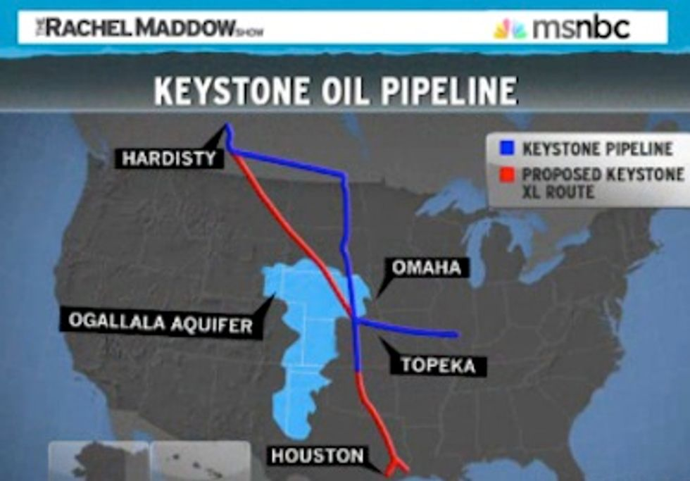 Rachel Maddow Exposes Climate Deniers and Discusses Keystone XL Delay